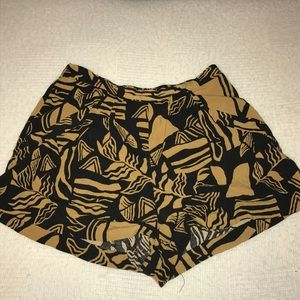F21 Tribal Flowy Shorts