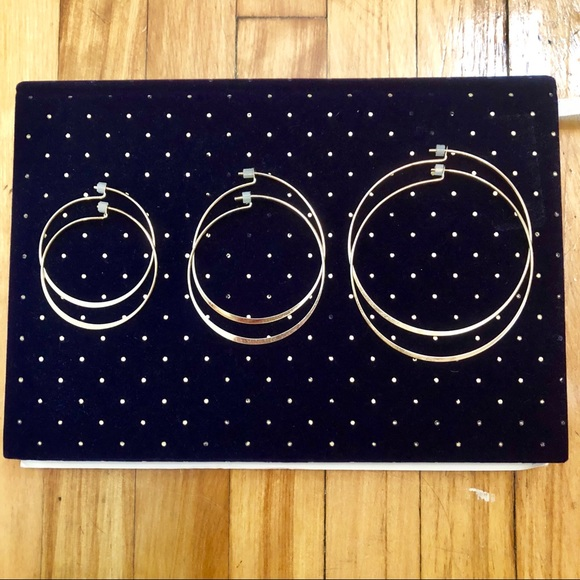 off Express Jewelry Express Gold Hoop Earring Trio from