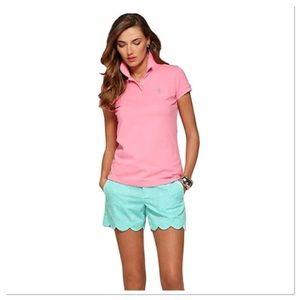 Lily Pulitzer shrunken polo golf shirt XL 
