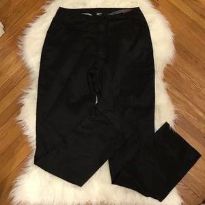 Philippe Adec Paris Black Satin Pants