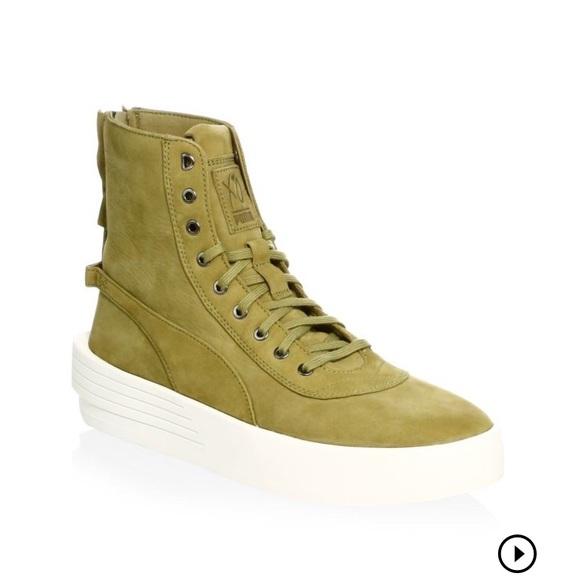 90a89228330 Puma XO Parallel Green Sneaker Boot