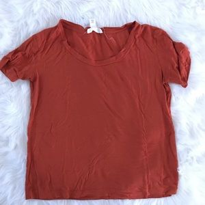 Burnt Orange Tee