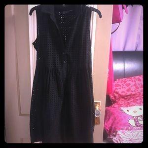 Black mesh dress size 10
