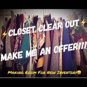 ✨CLOSET CLEAR OUT! ✨CONSIDERING ALL OFFERS!!!💖