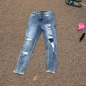 UO distressed jeans