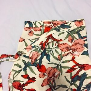 🌴 Sexy flower pattern maxi wrap skirt