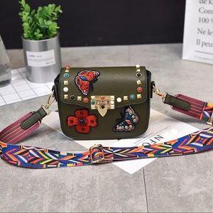 """Handbags - 🔥Host Pick """"Valentina"""" Rockstud Guitar Strap Bag"""
