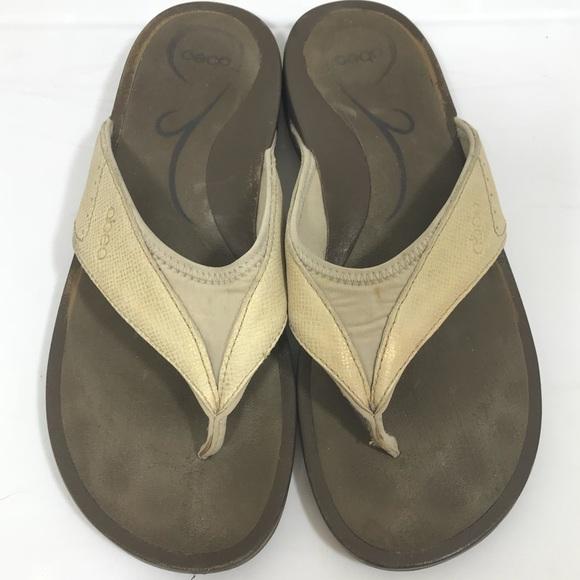 3a1eae50d46c Abeo Shoes - Women s Abeo Balboa Sandals Flip Flops Size 9 N