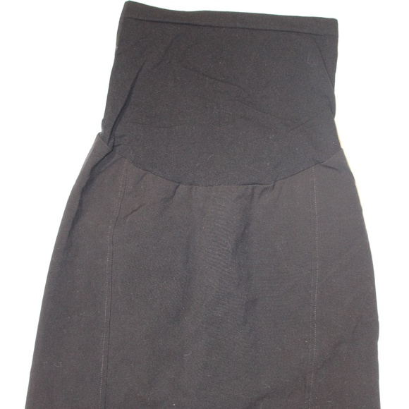 dce48edd4 Oh Baby by Motherhood Skirts | Euc Black Maternity Skirt | Poshmark