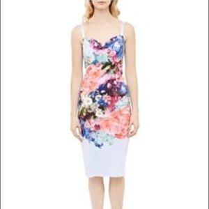 Ted Baker blue floral dress