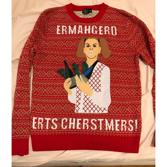 Ugly Christmas Sweater Meme.Ugly Christmas Sweater Ermahgerd Meme