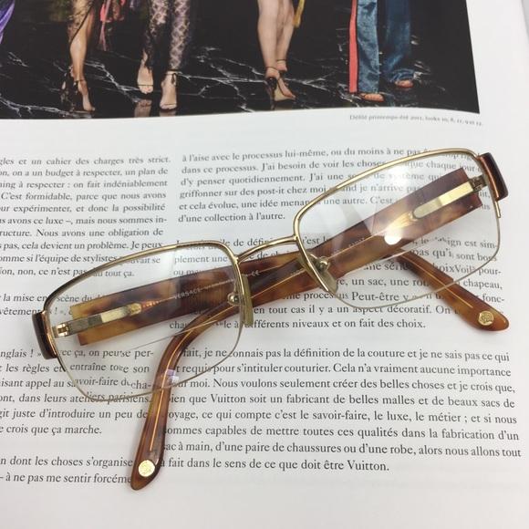 7f03d72180c7 Versace Accessories - Versace Tortoise Reading Glasses