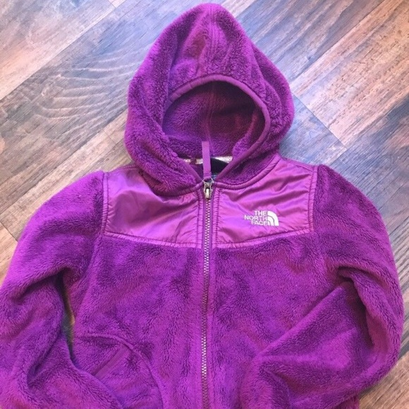 3f989119a The North Face Kids Purple Fleece Jacket XS / 6