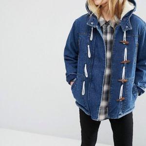 ASOS Denim duffle coat