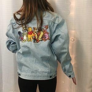 Vintage Disney Winnie the Pooh 90s Jean Jacket