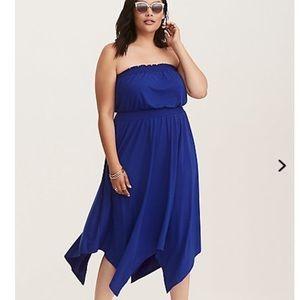 Torrid blue dress