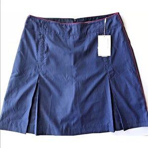 Nike tech women's golf skirt skort striped shorts