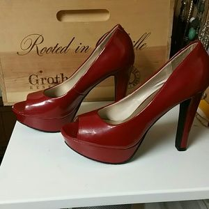 83% off Candie's Shoes - Red Candies heels from Jen's closet on ...