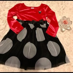 Disney Jumping Beans Holiday Dress 2T