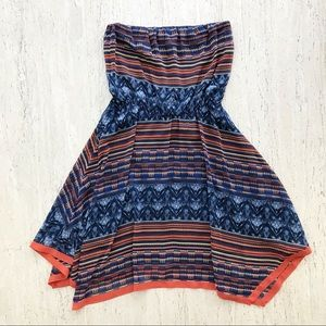 Anthropologie Meave Urcos Handkerchief Boho Dress