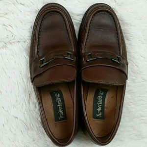 Timberland buckle loafers Rubber Sole size 5.5