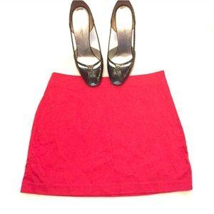 ❣️BOGO 1/2 off❣️ Express stretch a line mini skirt