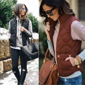 Jackets & Blazers - 🌟5 Star Fave SALE Perfect Puffer Vest-Chestnut 🌰