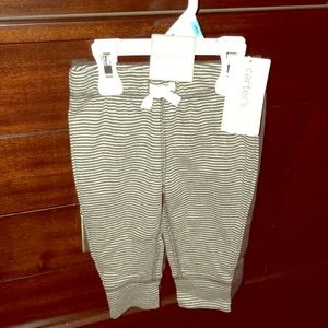 2 Pairs NWT Carter's 6 Mos Cotton Pants