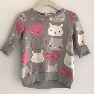 Zara Animal Sweater Dress