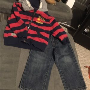 Boys 18 month old bundle 6 warm winter outfits