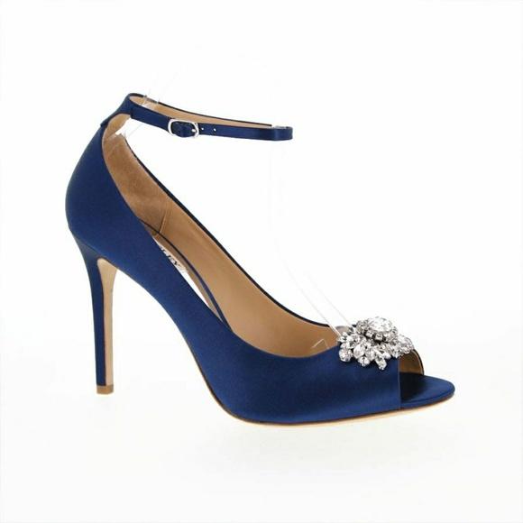 fd9d35c7414 Badgley Mischka Kali Ankle Strap Evening Shoe