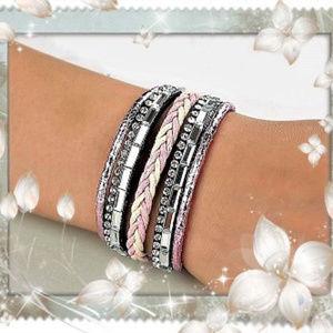 Jewelry - Multilayer Braided Wrap Bracelet