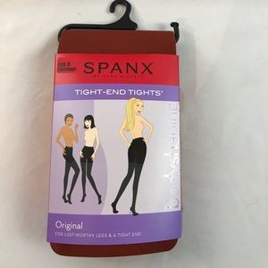 NWT SPANX Tight End Tights in Mahogany