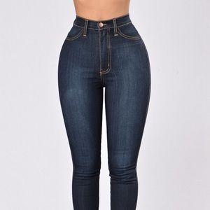 Fashion Nova Classic Hi Waist Jeans