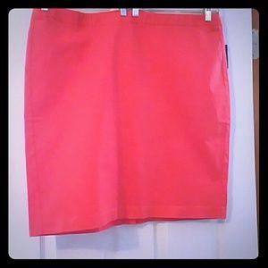 *Old Navy tangerine skirt