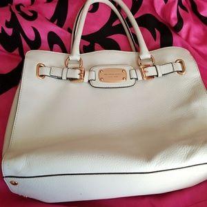 ****White Michael kors Hamilton bag****