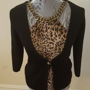 August Silk Thick Necklace Top