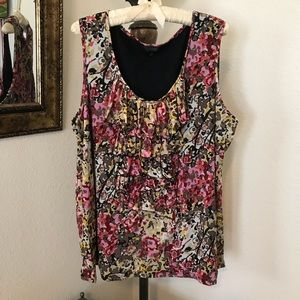 Style & Co. floral camisole.