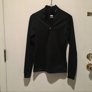 Nike Fit Dry Black 1/4 Zip