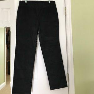 Rafaella Black Straight Leg Pants.Never Worn.Sz-12