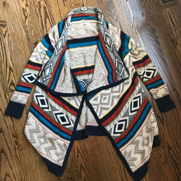 43% off Old Navy Sweaters - Old Navy Aztec sweater cardigan from ...