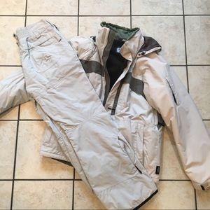 Men's Columbia ski jacket and pants set