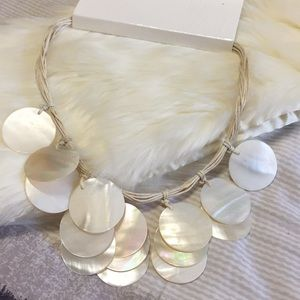 Beautiful shell Hawaii spirits choker necklace