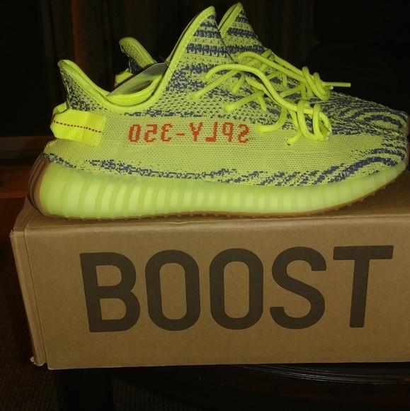 8ef385f1a06549 sale adidas yeezy 350 boost v2 semi frozen yellow sz 11 21876 31323