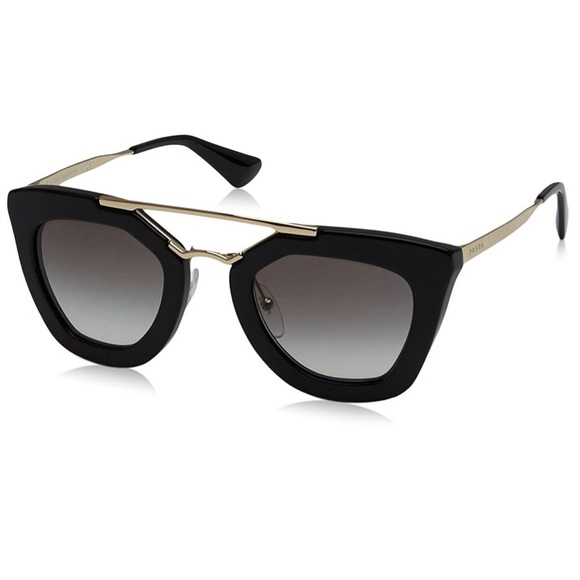 2dbf571710 ... amazon prada black cat eye sunglasses pr 09qs c18c0 427f0