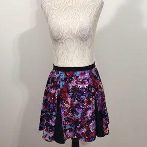 Nasty Gal Floral Mini Skirt- Sm - NWOT