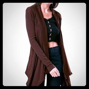 *NEW ARRIVAL* Chic Open Front Cardigan