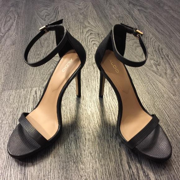 0869491c8027c Aldo Shoes | Caraa Anklestrap Heel Size 85 | Poshmark