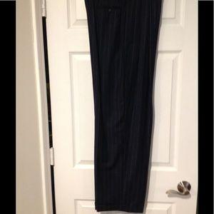 Dana Buchman wool/Cashmere pin striped Slacks