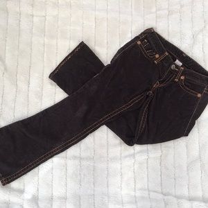 True Religion Brown Corduroy Pants